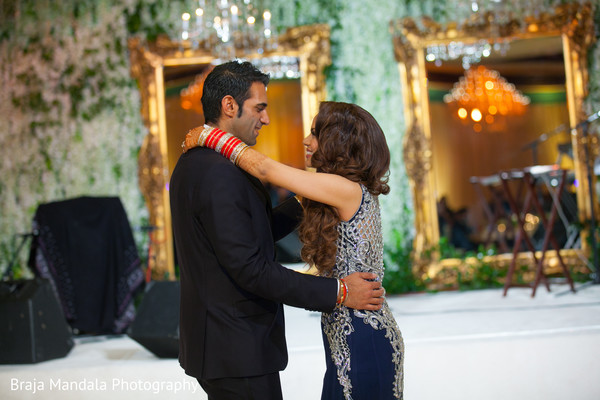 Indian wedding reception in Westlake Village, CA Indian Wedding by Braja Mandala Photography