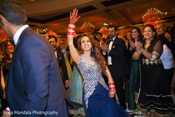 Reception photography in Westlake Village, CA Indian Wedding by Braja Mandala Photography