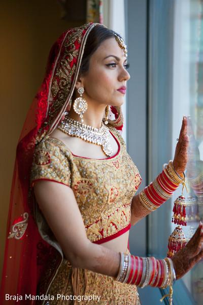 Indian bride in Westlake Village, CA Indian Wedding by Braja Mandala Photography