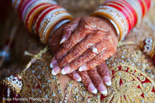 Bridal mehndi in Westlake Village, CA Indian Wedding by Braja Mandala Photography
