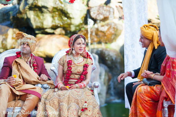 Indian wedding ceremony in Westlake Village, CA Indian Wedding by Braja Mandala Photography