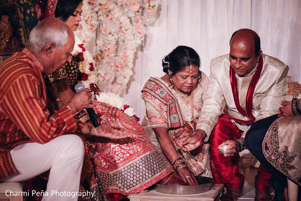 Indian wedding ceremony in Morristown, New Jersey Indian Wedding by Charmi Peña Photography