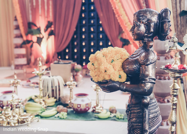 Wedding Aisle Decor in Long Beach, CA Indian Fusion Wedding by Indian Wedding Snap