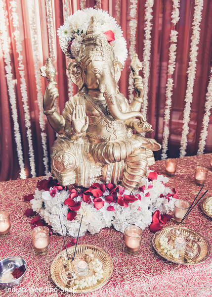 Elephant Statue for Indian Wedding in Long Beach, CA Indian Fusion Wedding by Indian Wedding Snap