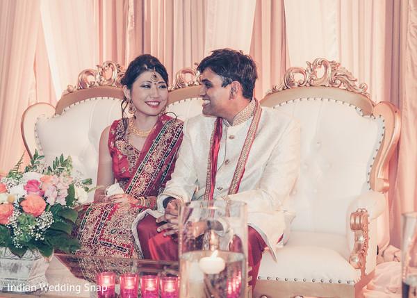 Indian Wedding Reception Venue in Long Beach, CA Indian Fusion Wedding by Indian Wedding Snap