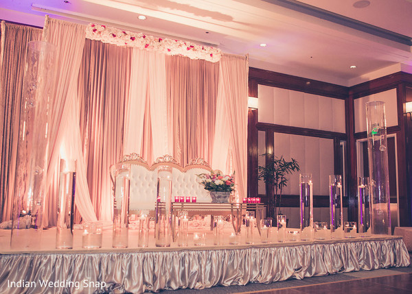 Indian Wedding Reception Venue in Long Beach, CA Indian Fusion Wedding by Indian Wedding Snap