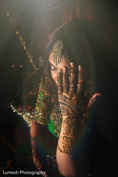 Bridal Mehndi in Dallas, TX Indian Wedding by Lomesh Photography
