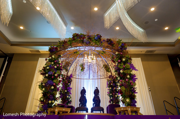 Mandap Decorations in Dallas, TX Indian Wedding by Lomesh Photography