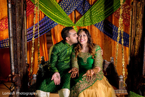 Bride and Groom Sangeet Night in Dallas, TX Indian Wedding by Lomesh Photography