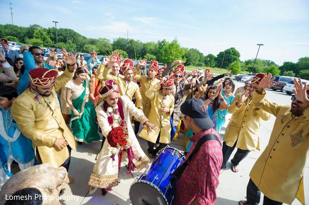Wedding Dhol in Dallas, TX Indian Wedding by Lomesh Photography