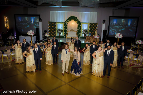 Wedding Party in Dallas, TX Indian Wedding by Lomesh Photography