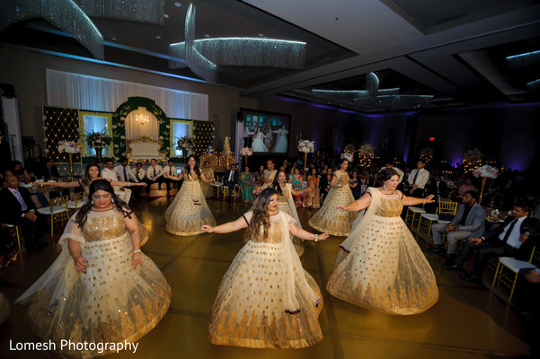 Bridal Party Fashion in Dallas, TX Indian Wedding by Lomesh Photography