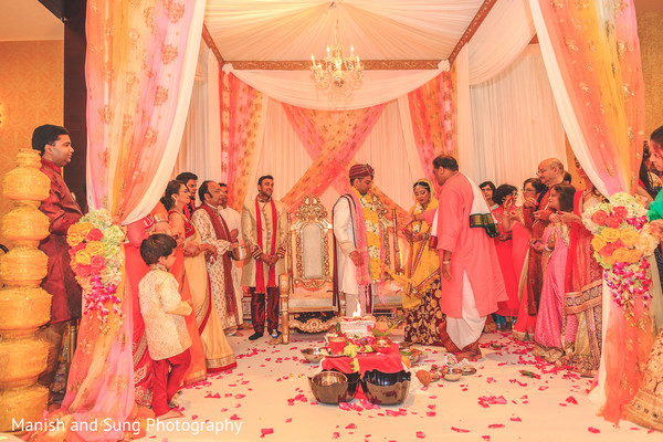 Indian Wedding Ceremony in Lancaster, PA Indian Wedding by Manish and Sung Photography