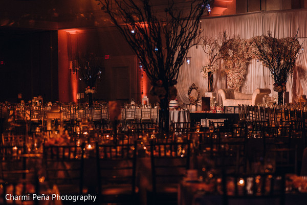 Tablescapes in Morristown, New Jersey Indian Wedding by Charmi Peña Photography
