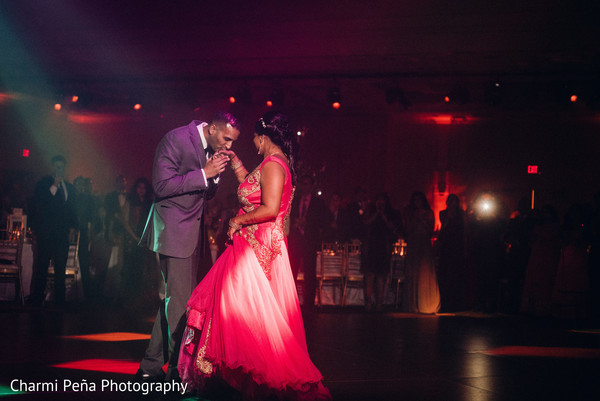 indian wedding reception,first dance