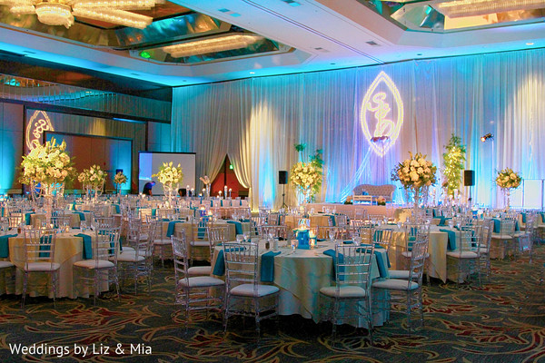 Indian Reception Venue in Studio City, CA Indian Wedding by Weddings by Liz & Mia