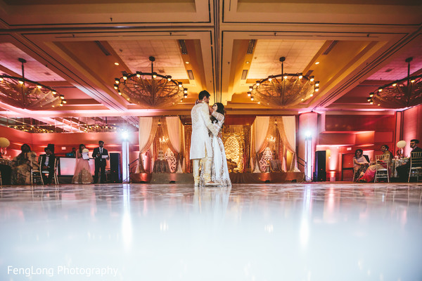 First dance in Atlanta, GA Indian Wedding by FengLong Photography