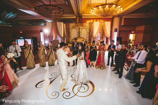 Indian wedding reception in Atlanta, GA Indian Wedding by FengLong Photography