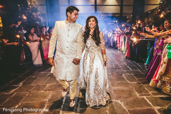 Indian reception venue in Atlanta, GA Indian Wedding by FengLong Photography