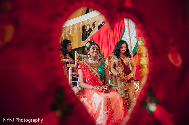 Indian Bridal Portrait in Worcester, Massachusetts Indian Wedding by NYNJ Photography