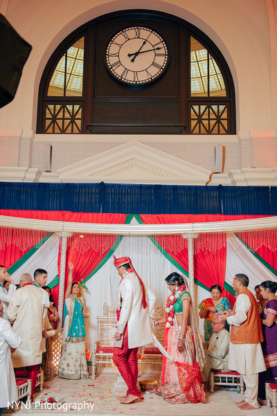 Indian Wedding Ceremony in Worcester, Massachusetts Indian Wedding by NYNJ Photography