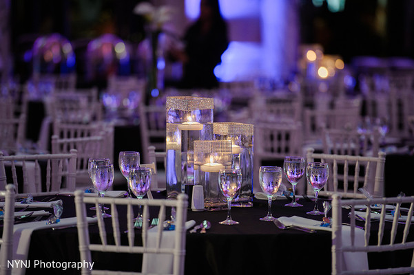Indian Reception Decor in Worcester, Massachusetts Indian Wedding by NYNJ Photography