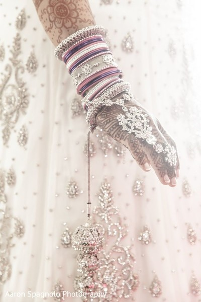 Indian Wedding Bangles in Fairhaven, MA Fusion Wedding by Aaron Spagnolo Photography
