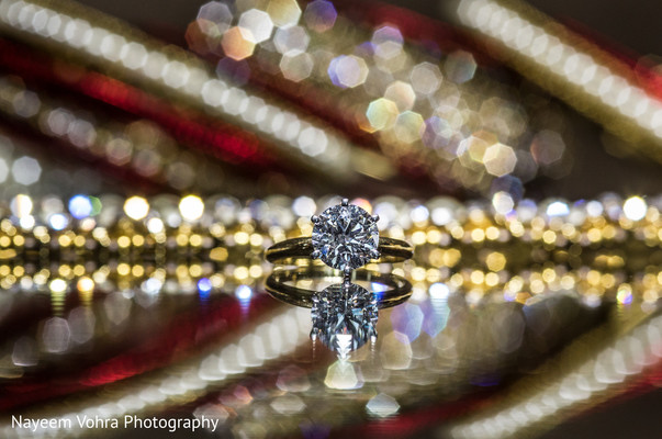 Engagement ring in Piermont, NY South Asian Wedding by Nayeem Vohra Photography