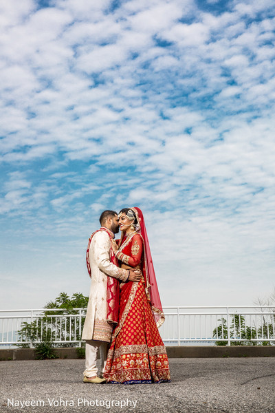 South Asian wedding portraits in Piermont, NY South Asian Wedding by Nayeem Vohra Photography