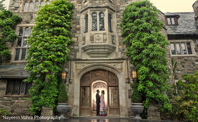 Reception portraits in Piermont, NY South Asian Wedding by Nayeem Vohra Photography