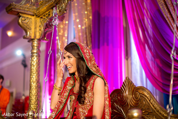 Indian Bridal Portrait in Baltimore, MD Pakistani Fusion Wedding by Akbar Sayed Photography
