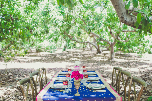 Tablescapes for Indian Weddings