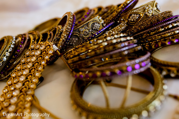 Beautiful Indian Bridal Jewelry in Cancun, MX Indian Wedding by DreamArt Photography