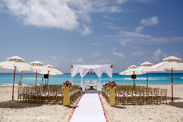 Indian Wedding Ceremony in Cancun, MX Indian Wedding by DreamArt Photography