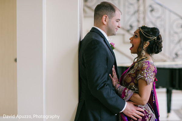 Bride and Groom Photography in Prospect, CT Indian Fusion Wedding by David Apuzzo Photography