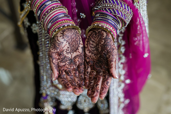 Bridal Mehndi in Prospect, CT Indian Fusion Wedding by David Apuzzo Photography