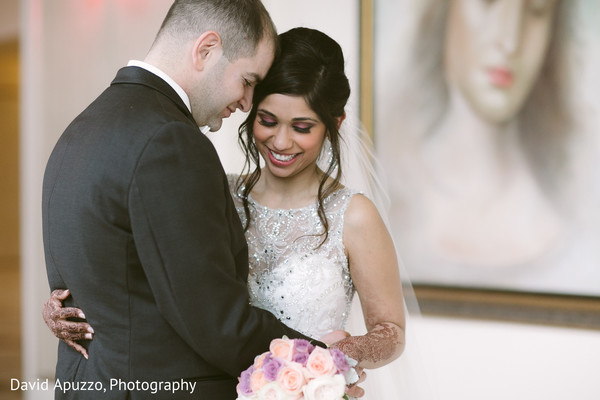 Bride and Groom Outdoor Photography in Prospect, CT Indian Fusion Wedding by David Apuzzo Photography