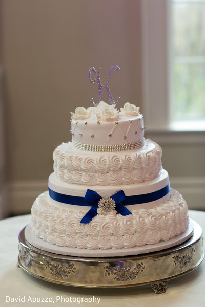 Indian Wedding Cake in Prospect, CT Indian Fusion Wedding by David Apuzzo Photography
