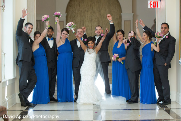 Wedding Party in Prospect, CT Indian Fusion Wedding by David Apuzzo Photography