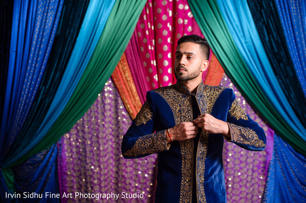 Indian groom getting ready. in Brampton, ON Indian Wedding by Irvin Sidhu Fine Art Photography Studio