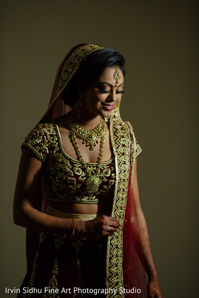 See this amazing maharani ready for the ceremony. in Brampton, ON Indian Wedding by Irvin Sidhu Fine Art Photography Studio
