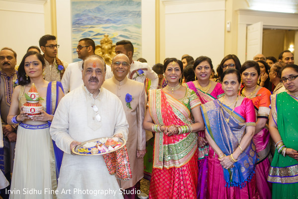 Bride's family waiting for the grooms arrival. in Brampton, ON Indian Wedding by Irvin Sidhu Fine Art Photography Studio