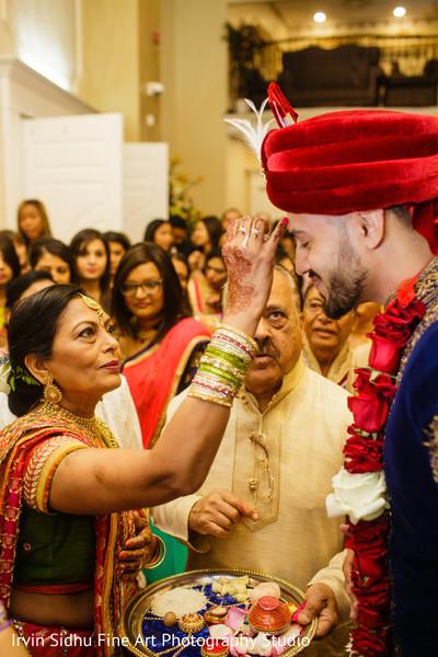 The milni ceremony. in Brampton, ON Indian Wedding by Irvin Sidhu Fine Art Photography Studio