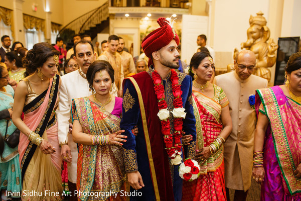 Indian groom making his entrance in Brampton, ON Indian Wedding by Irvin Sidhu Fine Art Photography Studio