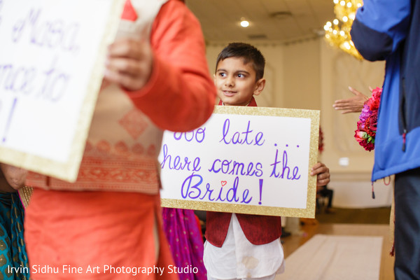 Prepare to see the beautiful Indian bride in Brampton, ON Indian Wedding by Irvin Sidhu Fine Art Photography Studio