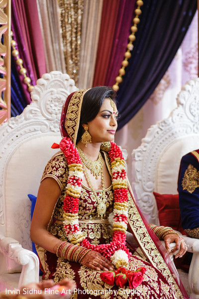 Lovely maharani in her wedding ceremony in Brampton, ON Indian Wedding by Irvin Sidhu Fine Art Photography Studio