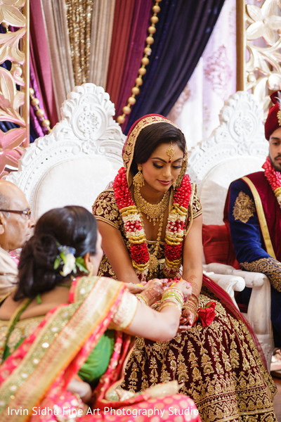 Maharani in her wedding ceremony in Brampton, ON Indian Wedding by Irvin Sidhu Fine Art Photography Studio
