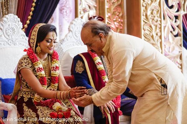 Wisdom is always part of an indian wedding ceremony in Brampton, ON Indian Wedding by Irvin Sidhu Fine Art Photography Studio