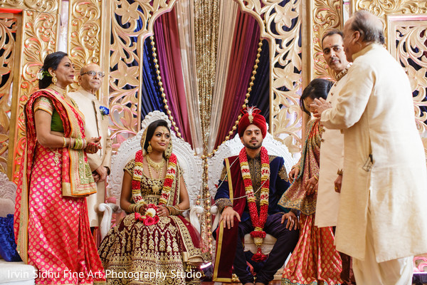 Indian family in wedding ceremony in Brampton, ON Indian Wedding by Irvin Sidhu Fine Art Photography Studio