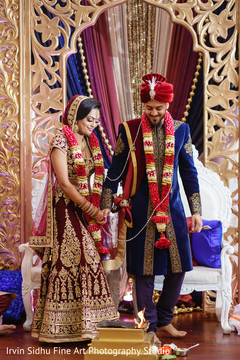 Share this special moment during the indian wedding ceremony